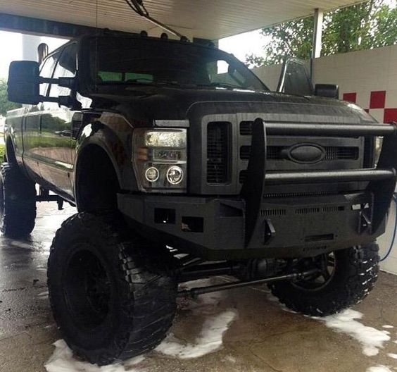 Massive lifted Ford Truck