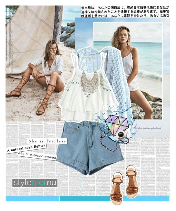 """""""No 174:For Stylemoi.nu Contest"""" by lovepastel ❤ liked on Polyvore featuring mode, MANGO, H&M, stylemoi en StyleMoiPromoter"""