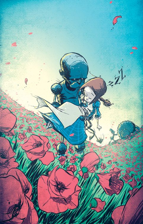 Wonderful Wizard of Oz 3 Cover by *skottieyoung