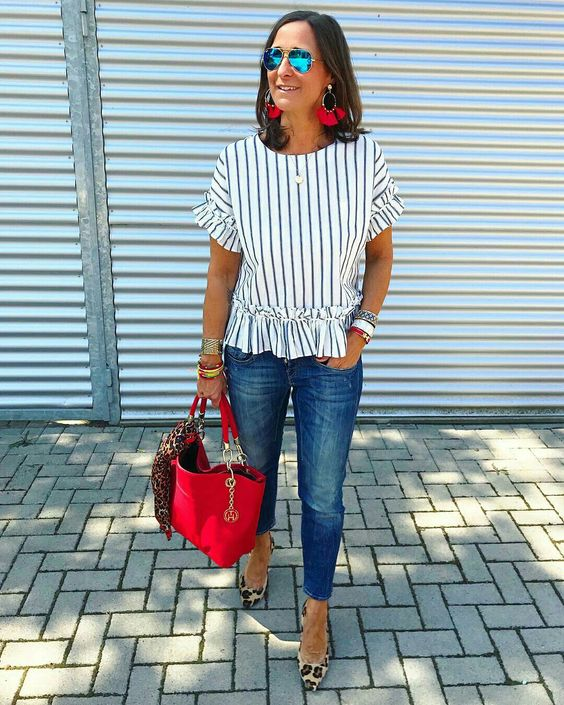 @jagta8 mix de estampas com calça jeans #mixdeestapas #listras #oncinha #estampadeoncinha #estampadeonca #animalprint #leopardprint #calcajeans #moda #estilo #tendência #fashion #fashionblog #modamujer #modafeminina #streetstyle #streetfashion #streetwear #modaderua #estiloderua #outfitt #ootd #outfitoftheday #outfitideas #outfits #looks #lookoftheday #lookdodia #look #GostoDisto