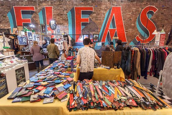 Spend your weekend indulging in gourmet eats, antiques and craft goods at New York's most happening flea markets