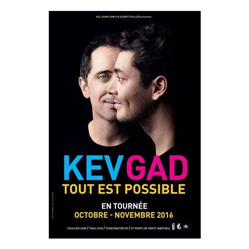 Spectacle de KEV et GAD : tout est possible.