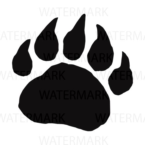 3 Bear Paw Footprint Jpg Png Svg Easy To Purchase Easy To Use Bear Footprint Teddy Bear Picnic Bear Paws