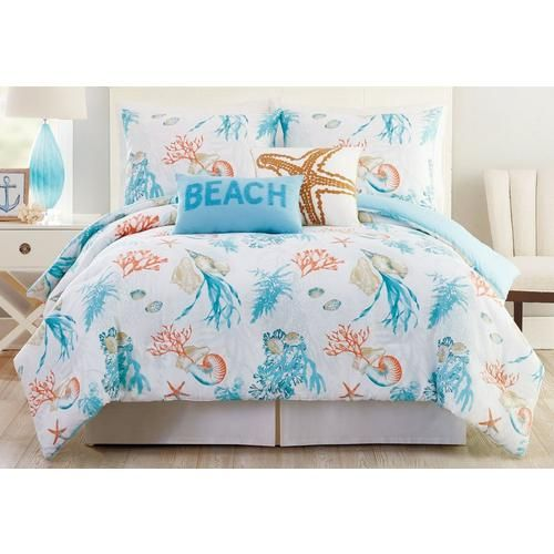 Relax Into The Coastal Lifestyle With Bedding Accessories By Phi