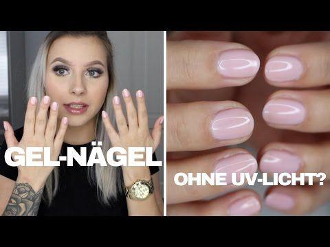 Gel Nagel Ohne Uv Licht Manhattan Super Gel Hanna Ellen Youtube In 2020 Gel Nails Gel Youtube