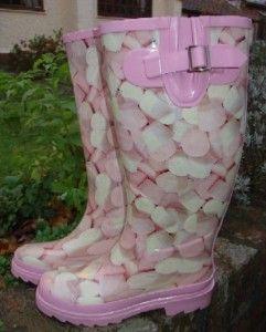 Marshmallow Pink Rain Boots!