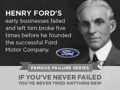 Henry Ford = Perseverance! www.SlenderSuzie.com