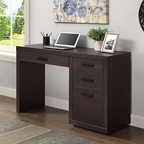 023acc66ae0b53b1a828f401cf972c36 - Better Homes And Gardens Computer Desk Brown Oak