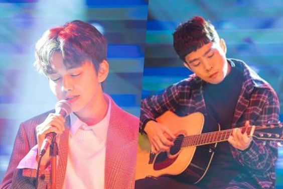 "Yoo Seung Ho And Kim Dong Young Perform Live At A Bar In ""My Strange Hero"""