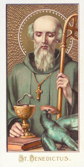 saint benedict july 11 he is the father of western
