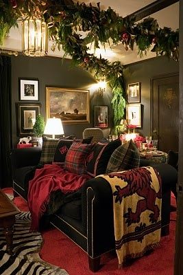 ralph lauren christmas decor | Decorating With Tartan Plaid.....Especially At Christmas