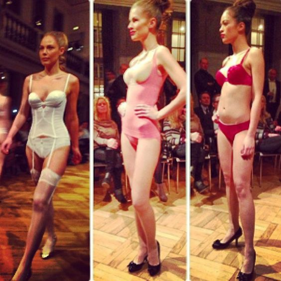 Triumph underwear used our high heels for their runway last night. Woop woop!