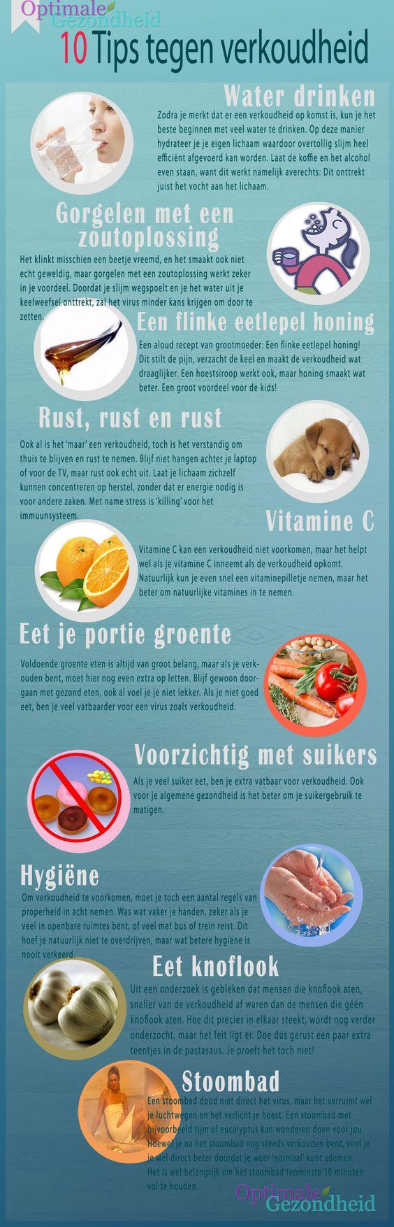 Ontdek hoe je met 12 handige tips verkoudheid kunt tegen te gaan. Het is belangrijk om je lichaam op de juiste manier te ondersteunen!: