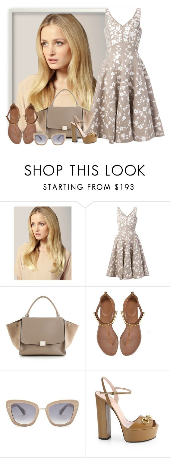 """Michael Kors, Gucci, Celine and Marc Jacobs."" by karollpc ❤ liked on Polyvore featuring Hershesons, Michael Kors, Gucci, Marc Jacobs, women's clothing, women's fashion, women, female, woman and misses"