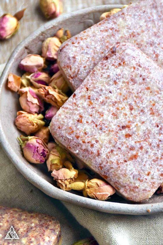 Rózsás szappan
