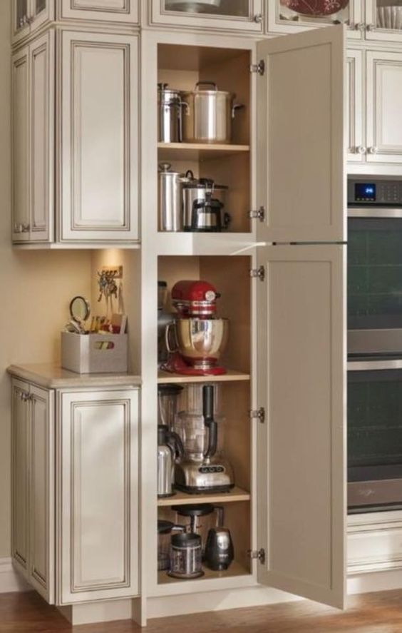 A place to store all the accumulated appliances