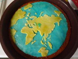 Gâteau Mapemonde