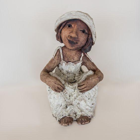 Escultura de ceramica de Natàlia Ferré