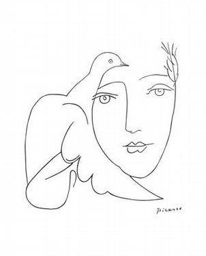 Picasso - I colori, come i lineamenti, seguono i cambiamenti delle emozioni. -- Pablo Picasso: