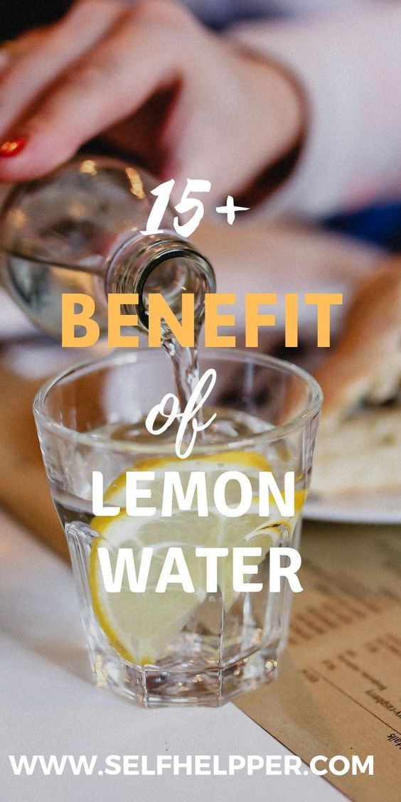Lemon water benefits 15538