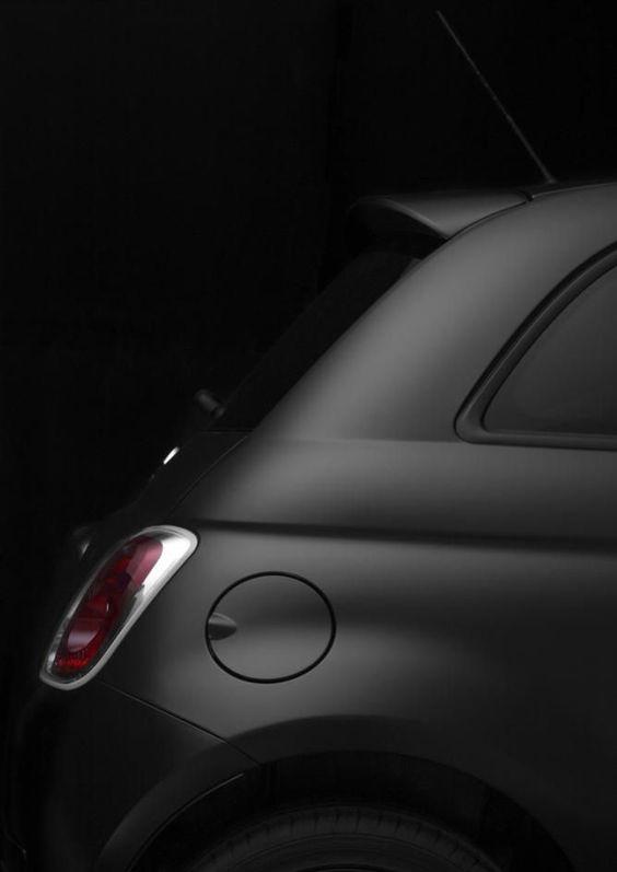 CMF we like / Fiat 500 / Black / Mat / at inspiration