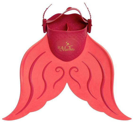 Mahina Mermaid Lil' MerFin Kids Adjustable Mermaid Fin (612) - 8149617