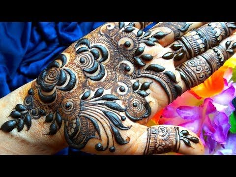 How To Apply Gulf Mehendi Designs On Palm Dubai Rose Petals Mehndi Arabic 2019 Mehndi Mehndi Designs For Fingers Mehndi Designs Feet Mehndi Designs For Hands
