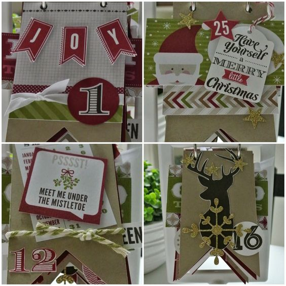 25 Days advent Stampin Up workshop by Cards and Scrapping