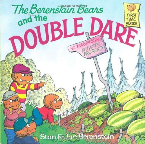 The Berenstain Bears and the Double Dare by Stan Berenstain http://www.amazon.com/dp/039489748X/ref=cm_sw_r_pi_dp_PRXWtb0ZQQ3MJZGH