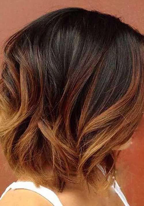 20 Different Bob Hair Color Ideas Bob Haircut And Hairstyle Ideas In 2020 Short Ombre Hair Big Short Hair Ombre Hair