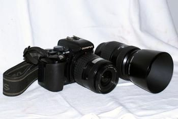 Digital Camera with double Lens