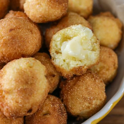 Easy Hush Puppies Recipe Spend With Pennies Easy Hush Puppy Recipe Hush Puppies Recipe Easy Steak Recipes