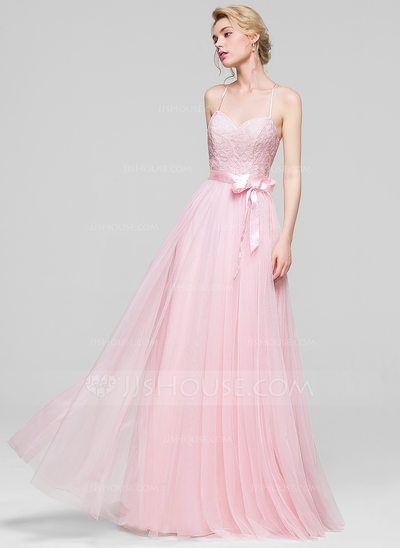 [CA$ 165.19] Forme Princesse Amoureux Longueur ras du sol Tulle Robe de…