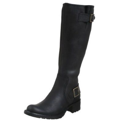 """I have never, ever been able to find a boot that fit my claves. This boot FITS!! The top of the shaft falls about 1.5"""" below my knee. I wear tights with them and had to work at getting the right boot zipped up the first few wears, but they are fabulous leather and have relaxed a bit. I can even wear sock liners with my tights for extra warmth. $151.99"""