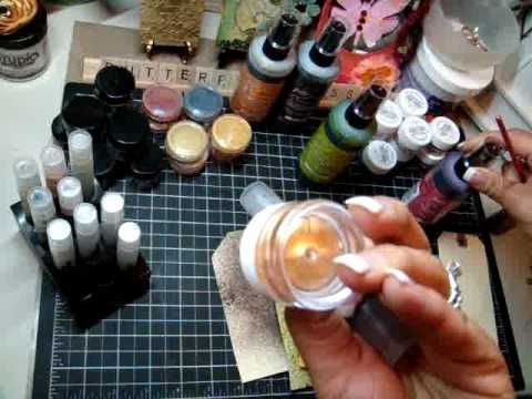 Making your own glimmer spritz + creating my stick pins