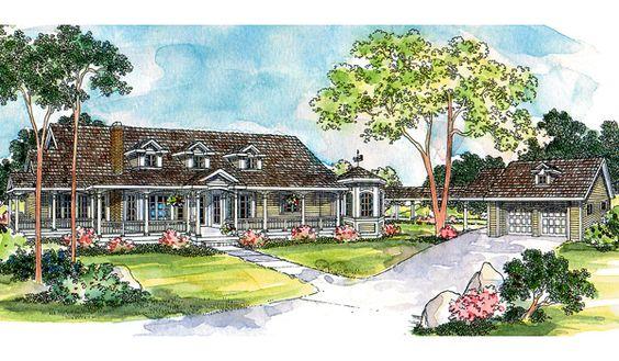 Greenbriar House Plan - 6356
