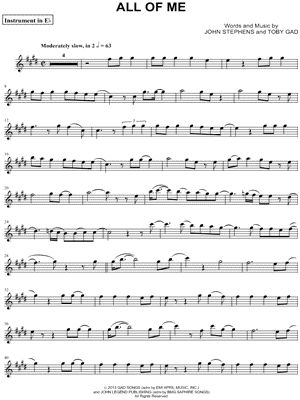 Violin violin chords for all of me : All of me, Saxophone and John legend on Pinterest