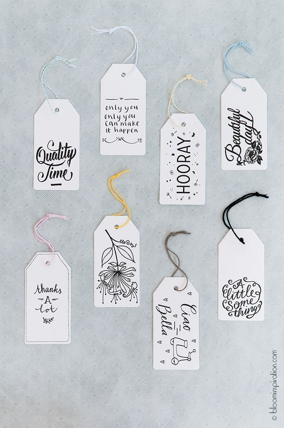 Pretty labels - so many uses