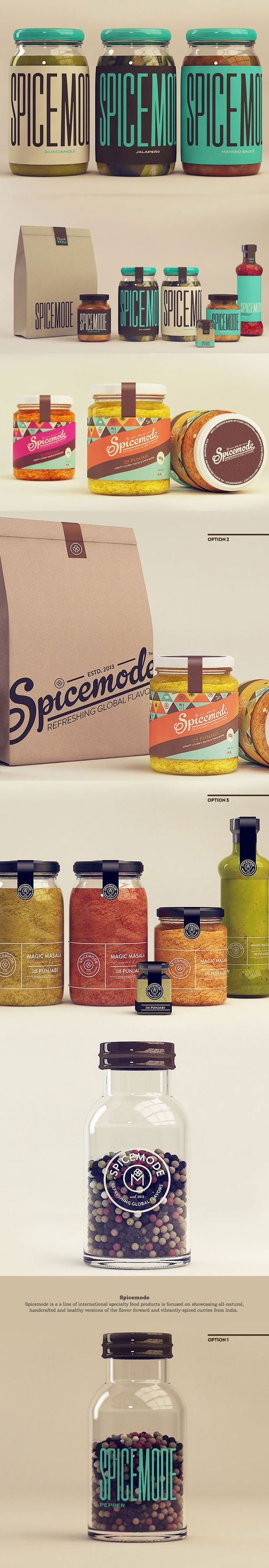 Branding Packaging Inspiration - WOW I love the type, love the bold colors it feels modern, funky and hip