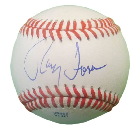 Cleveland Indians Ray Fosse signed Rawlings ROLB leather baseball w/ proof photo.  Proof photo of Ray signing will be included with your purchase along with a COA issued from Southwestconnection-Memorabilia, guaranteeing the item to pass authentication services from PSA/DNA or JSA. Free USPS shipping. www.AutographedwithProof.com is your one stop for autographed collectibles from Cleveland sports teams. Check back with us often, as we are always obtaining new items.