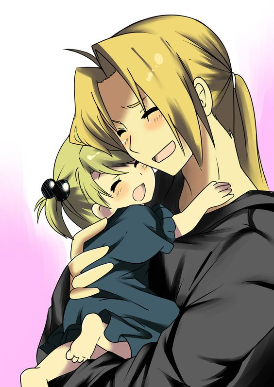 edward elric n daughter by akenreborn619.deviantart.com on @deviantART