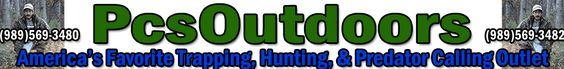 PCSOUTDOORS.COM Trapping Supplies - Welcome we provide name brand quality sporting goods, hunting, fishing, trapping supplies, archery, and shooting supplies at great prices. Truly your complete outdoor gear supplier!