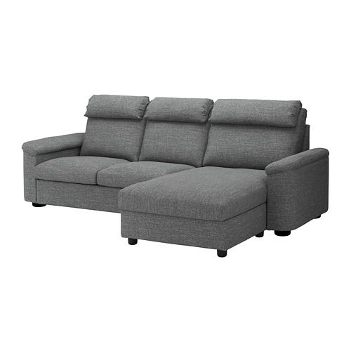 Lidhult Sofa With Chaise Lejde Red Brown Red Brown Sofa Bed With Chaise Ikea Sofa Bed Ikea Sofa