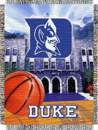 "Duke Blue Devils ""Home Field Advantage"" 48"" x 60"" Throw Blanket"