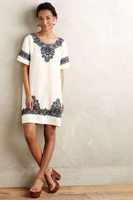 loka tunic dress / anthropologie: