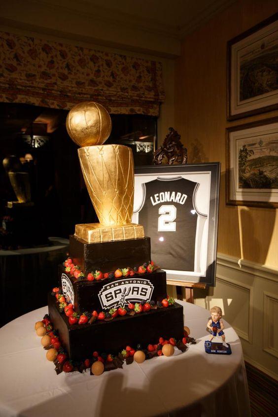 San Antonio Spurs Grooms Cake Spurs Groomscake Wedding