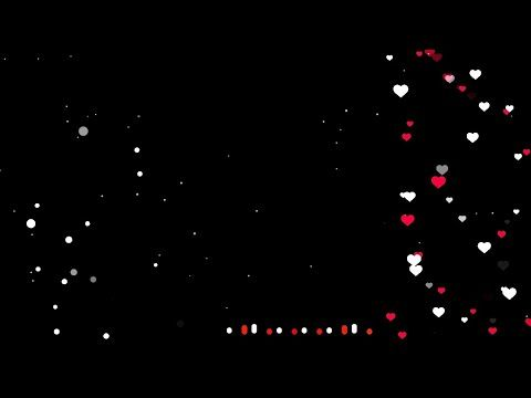 Kinemaster Black Screen Heart Particles Colour Changing Status Avee Player Green S Light Background Images Wedding Background Images Green Background Video