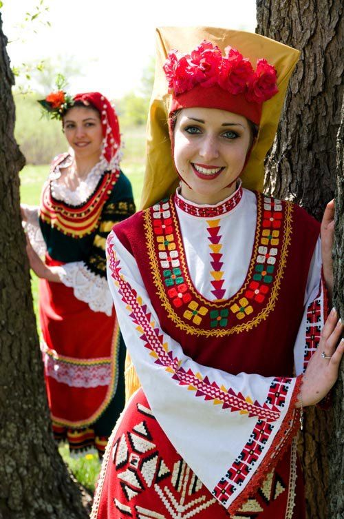 Bulgarian traditional folklore dress  http://dirbg.us