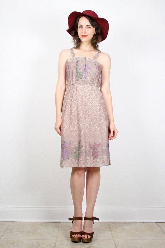 Light Purple Hippie Dress