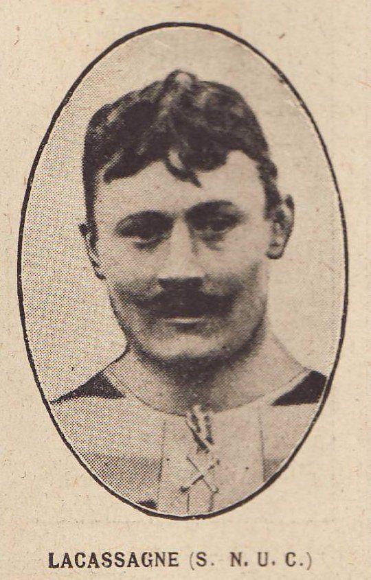 Henri LACASSAGNE (1883-1918) (Rugby) (Mort pour la France)